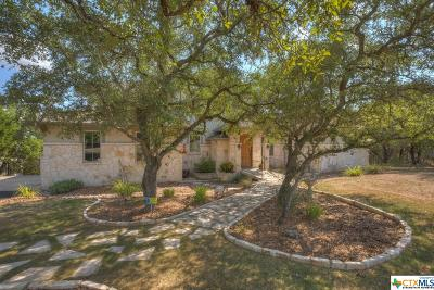 New Braunfels Single Family Home For Sale: 263 Westin Hills