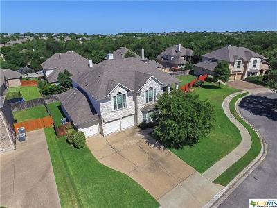 Round Rock Single Family Home For Sale: 3023 Hidden Bluff