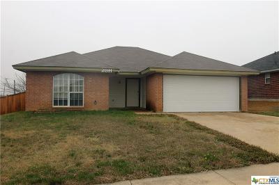 Killeen Single Family Home For Sale: 2811 Hemlock
