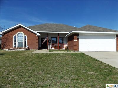 Copperas Cove Single Family Home For Sale: 2411 Gail