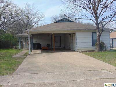 Killeen Multi Family Home For Sale: 817 & 819 Estelle