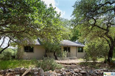 Wimberley Single Family Home For Sale: 1074 Lakeside Drive