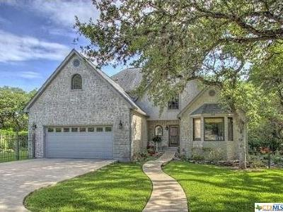 New Braunfels Single Family Home For Sale: 640 Bluffside