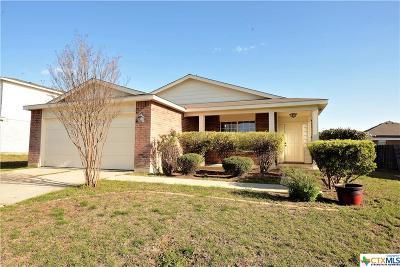 Killeen Single Family Home For Sale: 3405 Bull Run