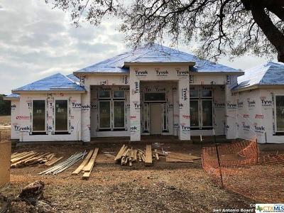 New Braunfels Single Family Home For Sale: 607 Battistrada