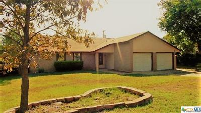 Harker Heights TX Single Family Home For Sale: $144,900