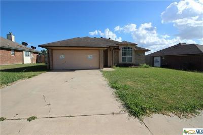 Killeen Single Family Home For Sale: 3204 Hilliard