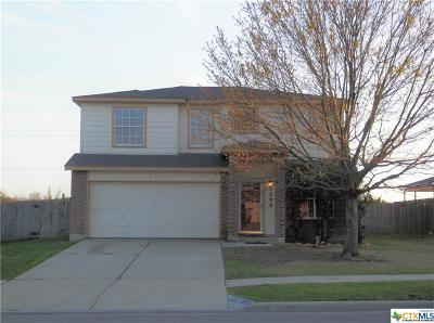 Killeen Single Family Home For Sale: 3306 Bull Run