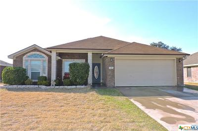 Copperas Cove Single Family Home For Sale: 2411 Vernice Drive