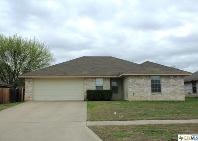 Killeen Single Family Home For Sale: 4206 Lonesome Dove Drive