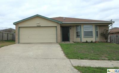 Killeen Single Family Home For Sale: 3205 Windfield Drive