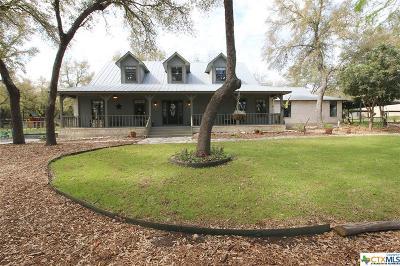 Canyon Lake TX Single Family Home For Sale: $574,000