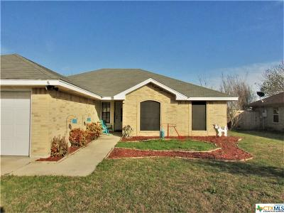 Killeen Single Family Home For Sale: 4908 James Loop