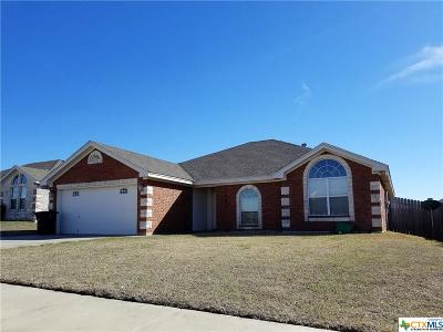 Killeen Single Family Home For Sale: 3802 Llano Estacado
