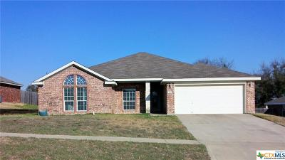 Killeen Single Family Home For Sale: 4907 Lightning Rock Trail
