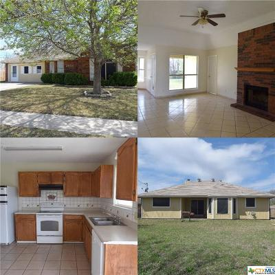 Killeen Single Family Home For Sale: 2606 Marlin