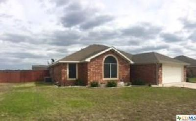 Killeen TX Single Family Home For Sale: $140,500