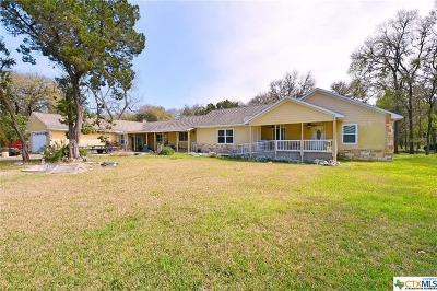 New Braunfels Single Family Home Pending Take Backups: 1446 Edwards Boulevard
