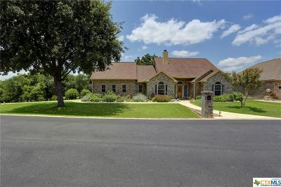 New Braunfels Single Family Home For Sale: 1268 Long Creek