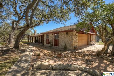 Canyon Lake Single Family Home For Sale: 1635 Stagecoach Drive