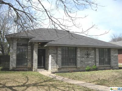 Temple TX Single Family Home For Sale: $128,000