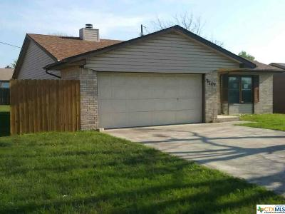 Killeen TX Single Family Home For Sale: $53,000