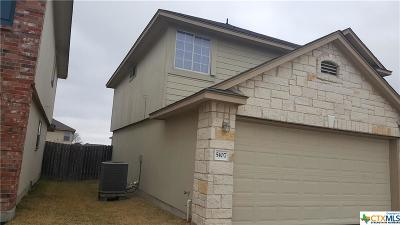 Killeen TX Single Family Home For Sale: $134,900