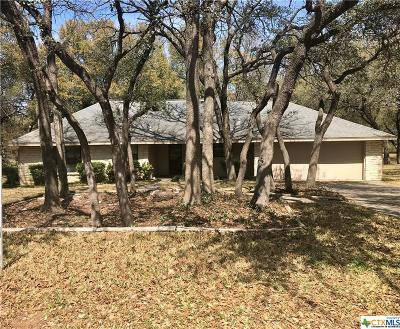 Belton TX Single Family Home For Sale: $177,000