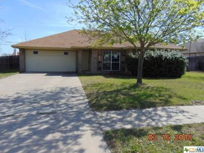 Killeen TX Single Family Home For Sale: $79,900