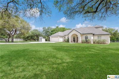 Spring Branch TX Single Family Home For Sale: $514,900
