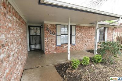 Killeen Single Family Home For Sale: 2002 Hooper Street