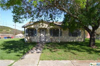 Copperas Cove Single Family Home For Sale: 901 Hackberry Street