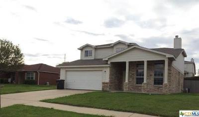 Killeen Single Family Home For Sale: 2505 Verbena