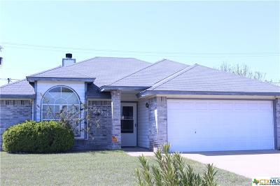 Killeen Single Family Home For Sale: 3703 Christie