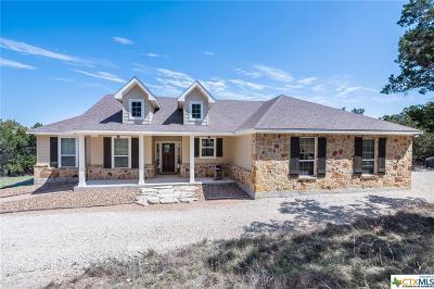 Canyon Lake Single Family Home For Sale: 131 High Oaks