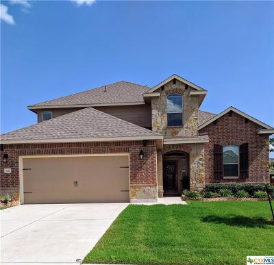 Killeen TX Single Family Home For Sale: $269,900