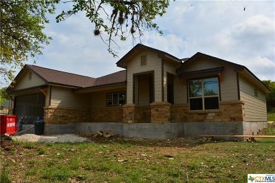 Canyon Lake TX Single Family Home For Sale: $267,900