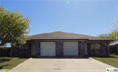 Killeen TX Multi Family Home For Sale: $164,000