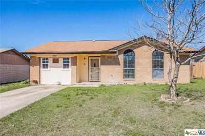 Harker Heights TX Single Family Home For Sale: $55,000
