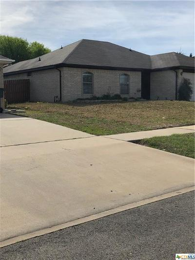 Killeen Single Family Home For Sale: 4304 Bowles