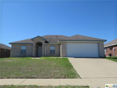Killeen TX Single Family Home For Sale: $109,500