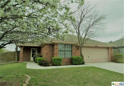 Killeen Single Family Home For Sale: 4802 Bluestem Lane
