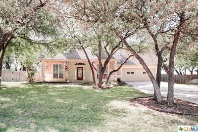 Salado Single Family Home For Sale: 1208 Salado Oaks Drive