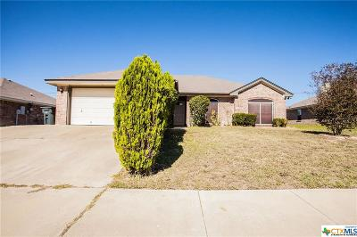 Killeen TX Single Family Home For Sale: $133,900
