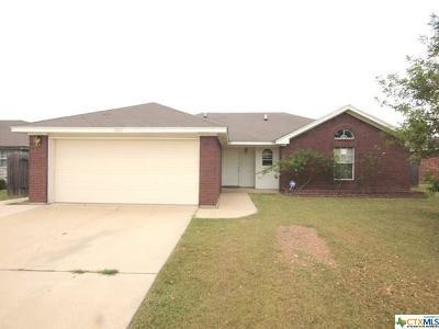 Killeen Single Family Home For Sale: 3302 Trey Lane