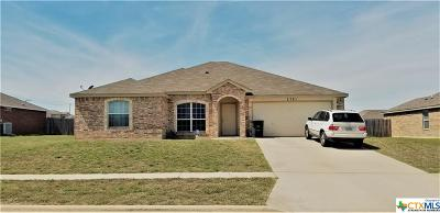 Killeen TX Single Family Home For Sale: $127,800