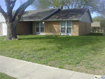 Killeen TX Single Family Home For Sale: $93,900