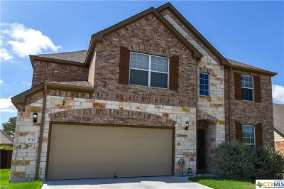 Harker Heights TX Single Family Home For Sale: $290,100