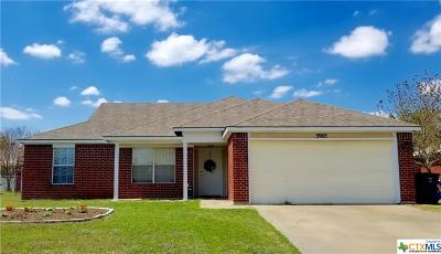 Killeen TX Single Family Home For Sale: $103,000