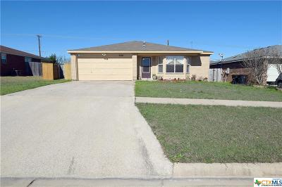 Killeen Single Family Home For Sale: 3301 Windfield
